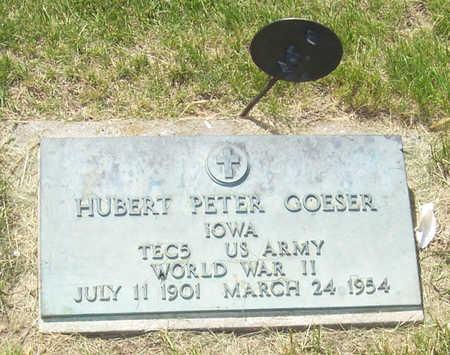GOESER, HUBERT PETER - Shelby County, Iowa | HUBERT PETER GOESER