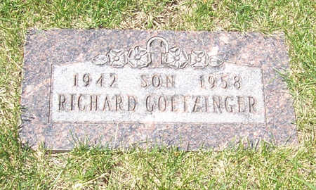 GOETZINGER, RICHARD - Shelby County, Iowa | RICHARD GOETZINGER