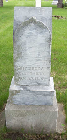 GOODALE, MARY - Shelby County, Iowa | MARY GOODALE