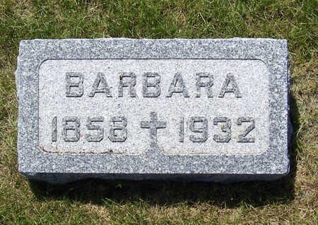 GORSCHE, BARBARA - Shelby County, Iowa | BARBARA GORSCHE