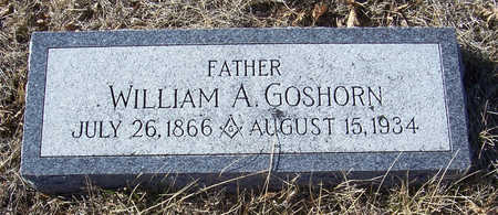 GOSHORN, WILLIAM A. (FATHER) - Shelby County, Iowa | WILLIAM A. (FATHER) GOSHORN