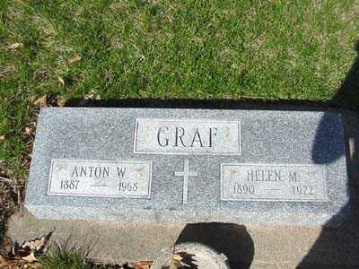 BOOK GRAF, HELEN M.   (HELEN MATILDA) - Shelby County, Iowa | HELEN M.   (HELEN MATILDA) BOOK GRAF