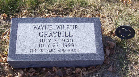 GRAYBILL, WAYNE WILBUR - Shelby County, Iowa | WAYNE WILBUR GRAYBILL