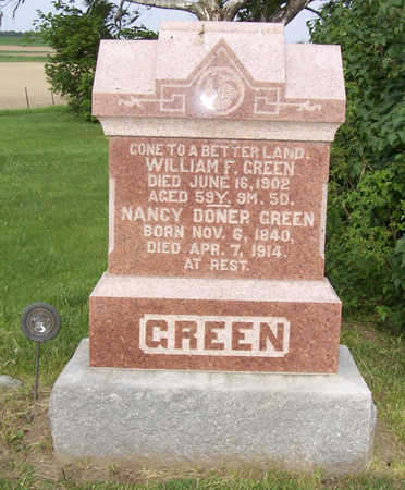 GREEN, NANCY - Shelby County, Iowa | NANCY GREEN