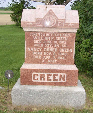 GREEN, WILLIAM F. - Shelby County, Iowa | WILLIAM F. GREEN