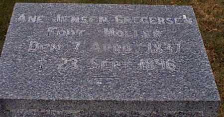 JENSEN GREGERSEN, ANE - Shelby County, Iowa | ANE JENSEN GREGERSEN