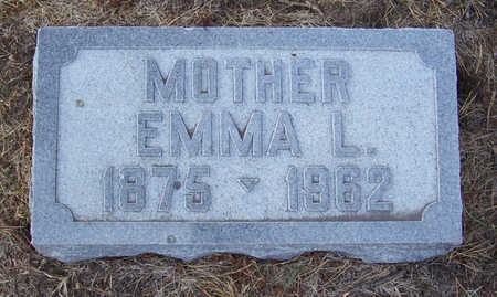 GREGERSEN, EMMA L. (MOTHER) - Shelby County, Iowa | EMMA L. (MOTHER) GREGERSEN