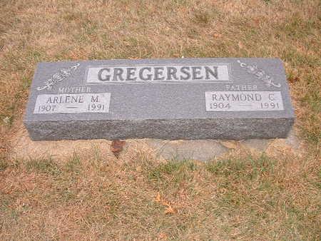 GREGERSEN, RAYMOND C - Shelby County, Iowa | RAYMOND C GREGERSEN