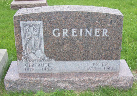 GREINER, PETER - Shelby County, Iowa | PETER GREINER
