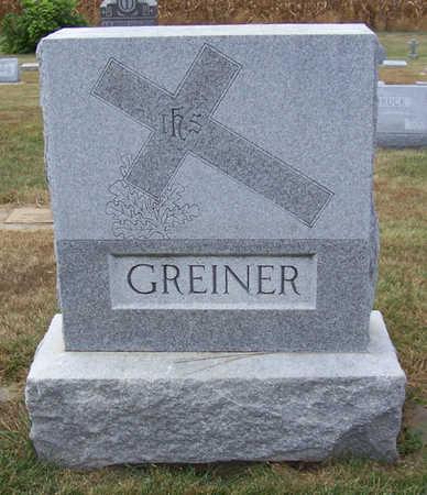 GREINER, NICKOLAS & ANNA (LOT) - Shelby County, Iowa   NICKOLAS & ANNA (LOT) GREINER