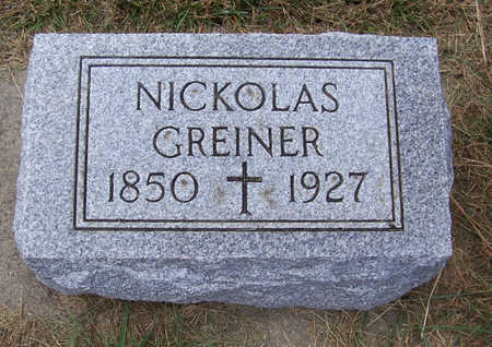 GREINER, NICKOLAS - Shelby County, Iowa | NICKOLAS GREINER