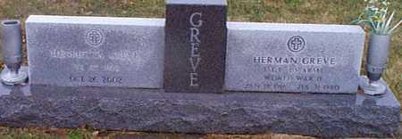 GREVE, HERMAN - Shelby County, Iowa | HERMAN GREVE