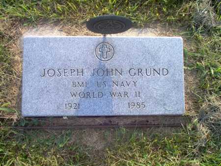 GRUND, JOSEPH J. - Shelby County, Iowa | JOSEPH J. GRUND