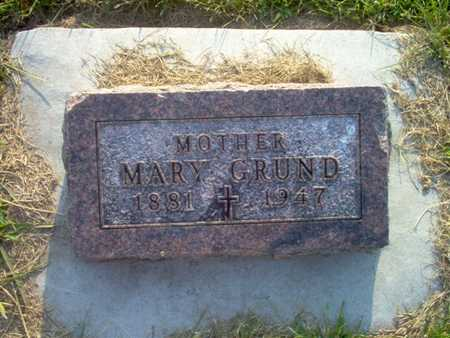 GRUND, MARY T. - Shelby County, Iowa | MARY T. GRUND