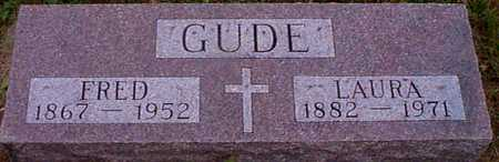 GUDE, FRED - Shelby County, Iowa | FRED GUDE