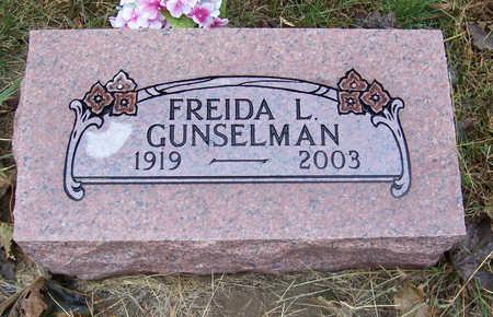 GUNSELMAN, FREIDA L. - Shelby County, Iowa | FREIDA L. GUNSELMAN