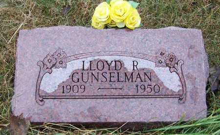 GUNSELMAN, LLOYD R. - Shelby County, Iowa | LLOYD R. GUNSELMAN