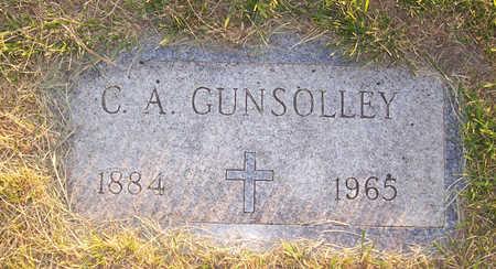GUNSOLLEY, C. A. - Shelby County, Iowa | C. A. GUNSOLLEY