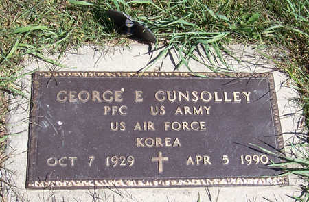 GUNSOLLEY, GEORGE E. (MILITARY) - Shelby County, Iowa | GEORGE E. (MILITARY) GUNSOLLEY