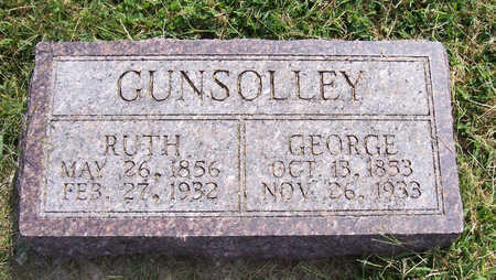 GUNSOLLEY, GEORGE - Shelby County, Iowa | GEORGE GUNSOLLEY