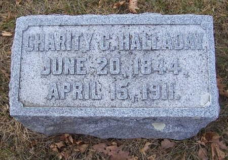 HALLADAY, CHARITY C. - Shelby County, Iowa   CHARITY C. HALLADAY