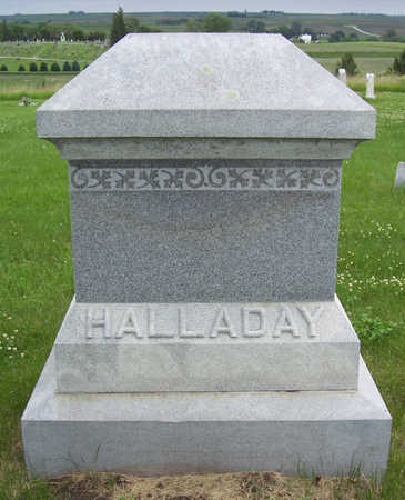 HALLADAY, JOHN - Shelby County, Iowa | JOHN HALLADAY
