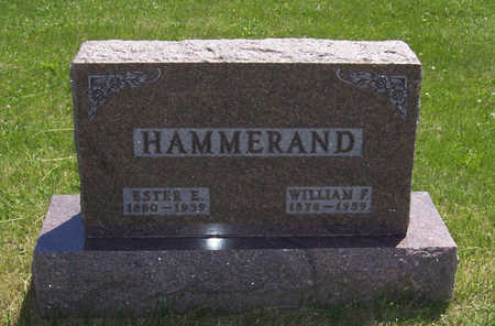 HAMMERAND, WILLIAM F. - Shelby County, Iowa | WILLIAM F. HAMMERAND
