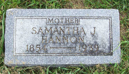 HANNON, SAMANTHA J. (MOTHER) - Shelby County, Iowa | SAMANTHA J. (MOTHER) HANNON
