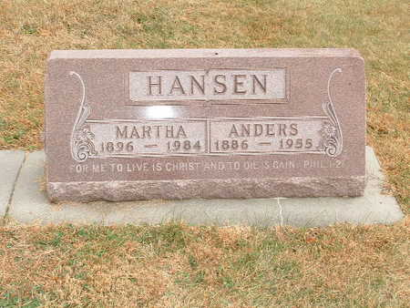 HANSEN, ANDERS - Shelby County, Iowa | ANDERS HANSEN