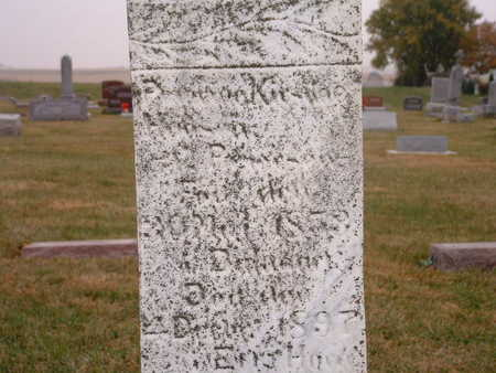 HANSEN, ANNA KIRSTINE - Shelby County, Iowa | ANNA KIRSTINE HANSEN