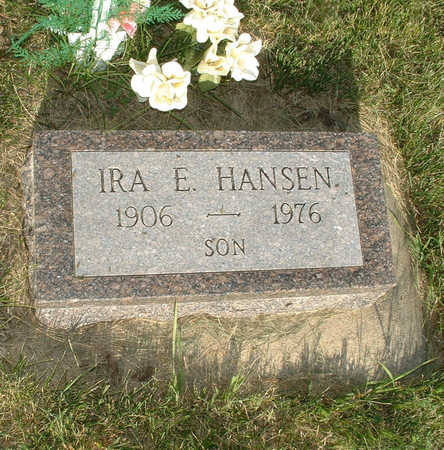 HANSEN, IRA E - Shelby County, Iowa | IRA E HANSEN