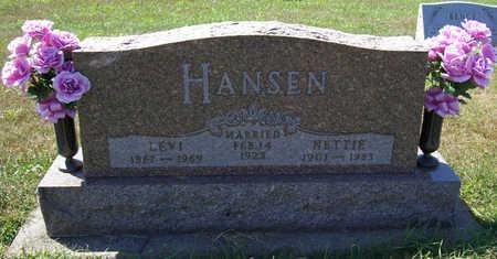 HANSEN, NETTIE - Shelby County, Iowa | NETTIE HANSEN