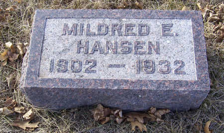 HANSEN, MILDRED E. - Shelby County, Iowa | MILDRED E. HANSEN