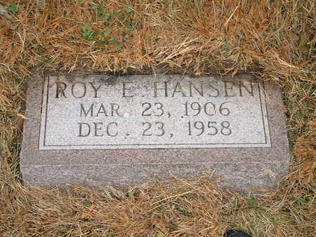 HANSEN, ROY E - Shelby County, Iowa | ROY E HANSEN