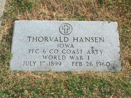 HANSEN, THORVALD - Shelby County, Iowa | THORVALD HANSEN