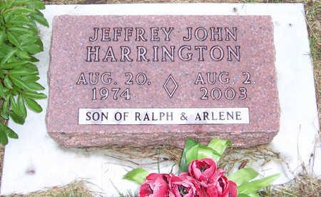 HARRINGTON, JEFFREY JOHN - Shelby County, Iowa   JEFFREY JOHN HARRINGTON
