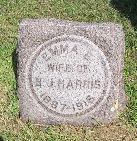 HARRIS, EMMA E. - Shelby County, Iowa | EMMA E. HARRIS