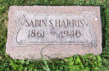 HARRIS, SABIN S. - Shelby County, Iowa | SABIN S. HARRIS