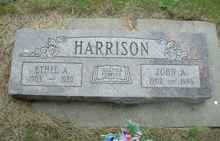 HARRISON, JOHN A - Shelby County, Iowa | JOHN A HARRISON