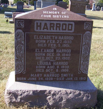 HARROD, ELIZABETH - Shelby County, Iowa | ELIZABETH HARROD