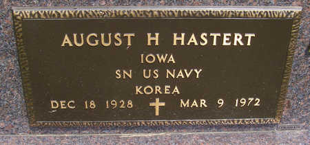 HASTERT, AUGUST H. (MILITARY) - Shelby County, Iowa | AUGUST H. (MILITARY) HASTERT