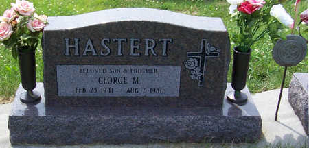 HASTERT, GEORGE M. - Shelby County, Iowa | GEORGE M. HASTERT