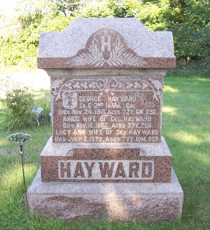 HAYWARD, GEORGE - Shelby County, Iowa | GEORGE HAYWARD