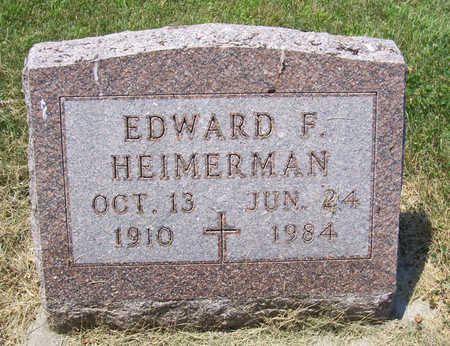 HEIMERMAN, EDWARD F. - Shelby County, Iowa | EDWARD F. HEIMERMAN