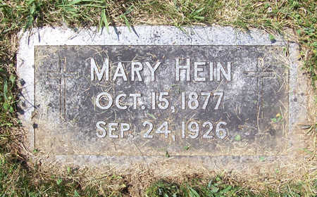 BEHRENDT HEIN, MARY - Shelby County, Iowa | MARY BEHRENDT HEIN