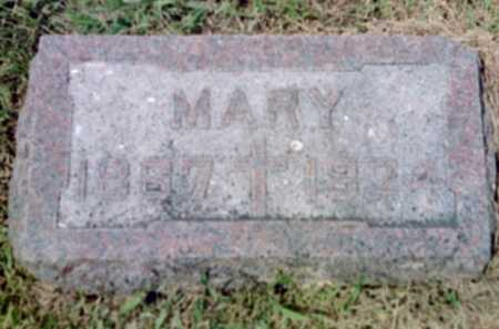 HELLER, MARY - Shelby County, Iowa | MARY HELLER