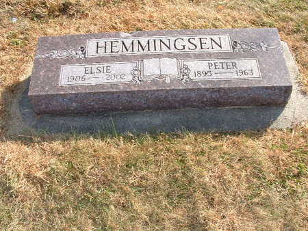 PETERSEN HEMMINGSEN, ELSIE MARIE - Shelby County, Iowa | ELSIE MARIE PETERSEN HEMMINGSEN