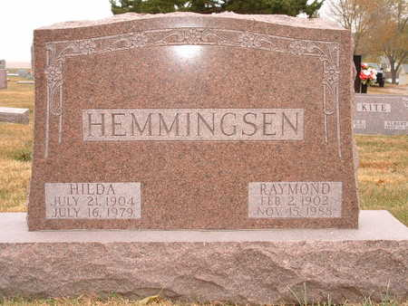 HEMMINGSEN, HILDA - Shelby County, Iowa | HILDA HEMMINGSEN
