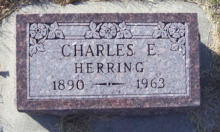 HERRING, CHARLES E. - Shelby County, Iowa | CHARLES E. HERRING
