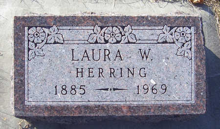 HERRING, LAURA W. - Shelby County, Iowa | LAURA W. HERRING